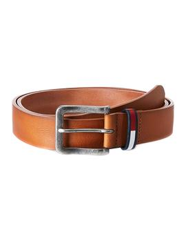 Belt Tommy Jeans Flag Inlay Camel