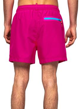 Swimsuit Superdry Volley Rosa Homens