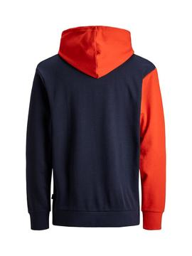 Sweat Jack and Jones Sweat Colourblock Menino
