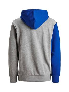 Sweat Jack andJones Sweat Colourblock Menino