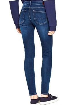 Jeans Pepe Jeans Pixie Azul Mulher