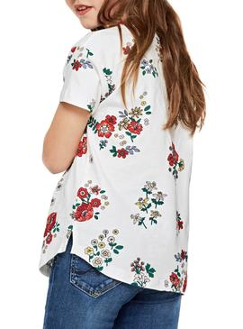 T-Shirt Pepe Jeans Anette Flores Menina