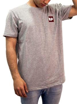 T-Shirt Rompiente Clothing Square Cinza