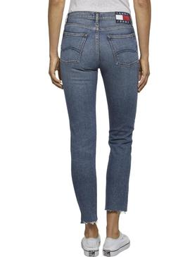 Jeans Tommy Jeans Izzy Crop Mulher