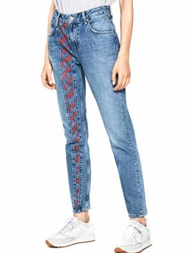 Jeans Pepe Jeans Arquivo Violeta Mulher