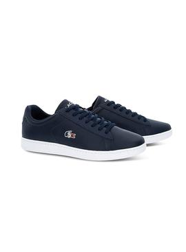 Sapatilhas Lacoste Carnaby France Azul Homens