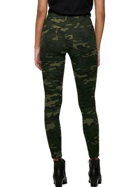 Pants Only Nine Ester Camouflage For Woman