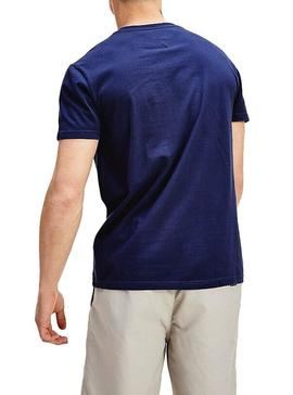 T-Shirt Tommy Jeans Corp Azul Homem