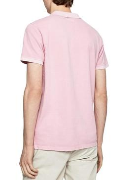 Polo Pepe Jeans Vicent Pink Polo para Homem