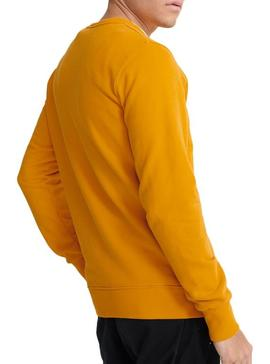 Sweat Superdry Core Logo Amarelo Homens