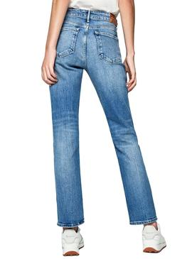 Jeans Pepe Jeans Mary Azul para Mulher