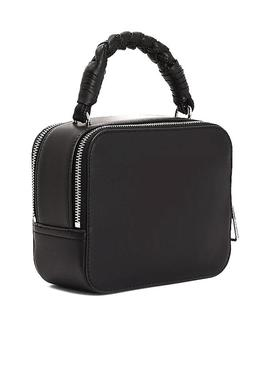 Bolsa Tommy Jeans Femme Crossover Preto Mulher